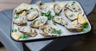 Grilled Oysters with Garlic Parmesan ...