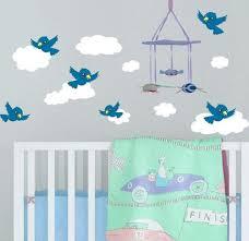 Baby Nursery Wall Stickers Baby Room Wall Decals Nursery Wall Decor