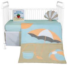 sun and sand 5 piece crib bedding set