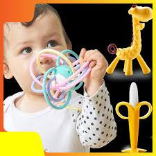 Đồ chơi cho trẻ kích thích mọc răng
