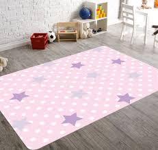 Nursery Floor Rug Polka Dot Rug Girls Room Decor Pink Rug Rugs For Nursery Nursery Star Kids Room Rugs Star Rug Playroom Decor Child Be Wild