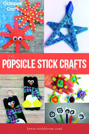 75 Popsicle Stick Crafts For Kids Sixth Bloom