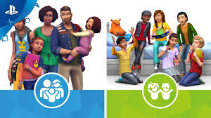 The Sims 4 Parenthood And The Sims 4 Kids Room Stuff Launch Trailer Ps4 Youtube