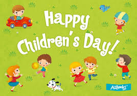 Happy International Children's Day!