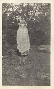 Priscilla Kennedy at the 1923 Maverick Festival - Woodstock Public Library  District - New York Heritage Digital Collections