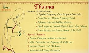 isha yoga thaimai program experience