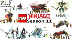 Lego Ninjago Season 11 Secrets of the forbidden Spinjitzu Compilation of  all Sets - YouTube
