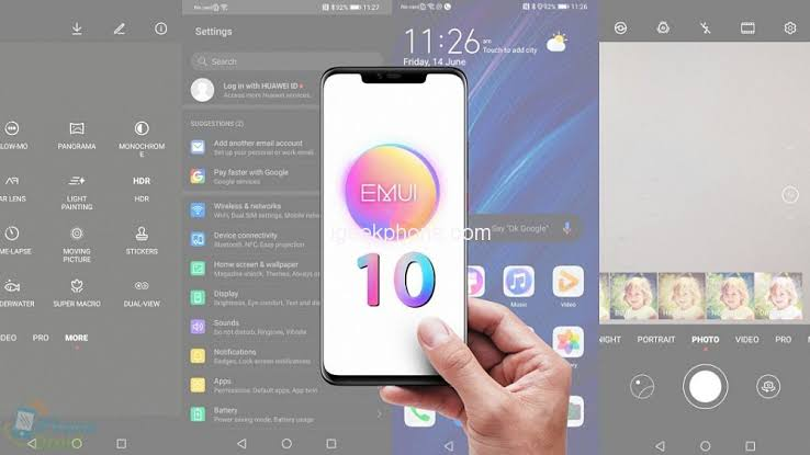 Image result for huawei emui 10""