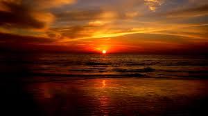 ocean sunset wallpaper 1920x1080 60045