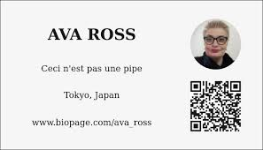Ava Ross - Biopage
