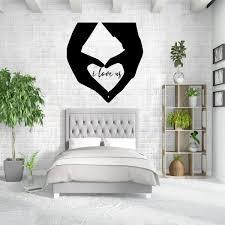 I Love Us Wall Decal Vinyl Decor Wall Decal Customvinyldecor Com