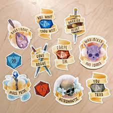 D D Rpg And Fantasy Class Stickers Rogue Bard Necromancer Etsy In 2020 D D Dungeons And Dragons Dungeons And Dragons Memes Dungeons And Dragons