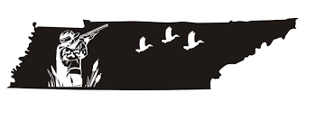 Tennessee Duck Hunting Decal Sticker