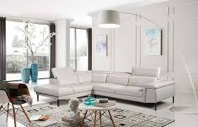 light grey leather sectional sofa ef