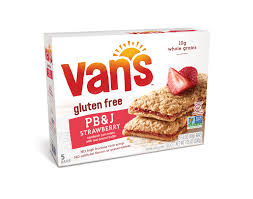 van s pb j sandwich bars strawberry and