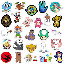 Qwddeco Cute Sticker Pack 101 Pcs Vinyl Stickers For Laptop Skateboard Bike Luggage Ps4 Xbos One Iphone Party Favors For Teens Boys And Girls Graffiti Decal Waterproof Buy Products Online With Ubuy Kuwait In Affordable Prices B07qlj1qhh