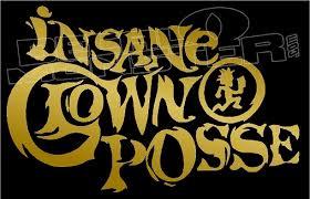 Icp Insane Clown Posse Hatchet Family Band Decal Sticker Decalmonster Com