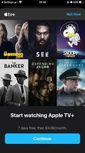 Apple TV plus free 1 year - Apple Community