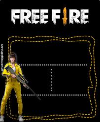 Free Fire Diamond Crear Invitaciones De Cumpleanos Invitaciones