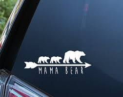 Mama Bear Sticker Etsy