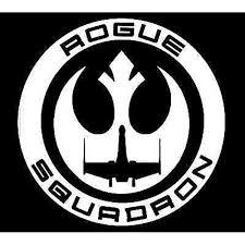 Amazon Com Star Wars Rogue Squadron Decal Vinyl Sticker Cars Trucks Vans Walls Laptop White 5 25 X 5 In Lli085 Arts Crafts Sewing