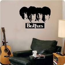 Amazon Com Valuevinylart The Beatles Silhouette Wall Decal 28 X 20 Home Kitchen