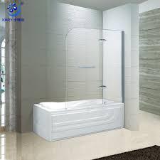 bathtub glass door portable shower