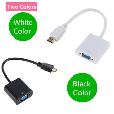 Best Price #be72 - HDMI To VGA Cable Converter HDMI Male To VGA Famale  Converter Adapter Digital Analog HD 1080P For PC Laptop Tablet HDMI Vers VGA