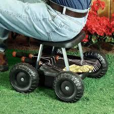 gardening rolling wheeled garden cart