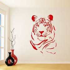 Large Lion Tiger Animal Removed Vinyl Wall Sticker Art Decal For Kids Room Home Decor Art Wall Room Decoration Wish