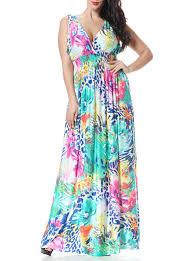 plus size sleeveless sun dress pastel