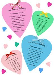 Il primo giorno di scuola (poesia per l'accoglienza) nel 2020   Primo  giorno di scuola, Idee per insegnanti, Scuola