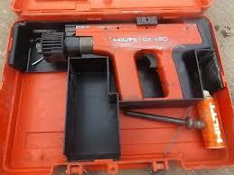 hilti dx450 nail gun incl vat and