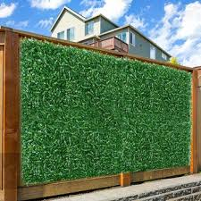 Best Offer 983b1 Artificial Privacy Fence Simulation Convenient Multi Purpose Lawn Plant Screen Wall Decoration Leaf Fence For Gardens Courtyard Cicig Co