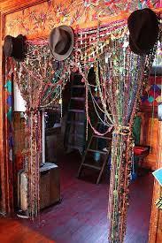 beaded door curtains diy