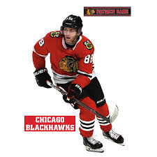 Chicago Blackhawks Patrick Kane Fathead 3 Pack Life Size Removable Wall Decal