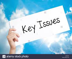Image result for key issues