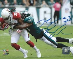 Nigel Bradham Making a Tackle Philadelphia Eagles Autographed NFL ...