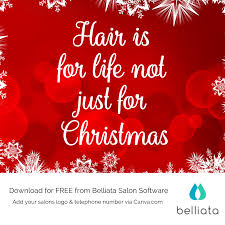 christmas salon quotes s for your hair salon