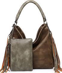 shomico hobo bag for women boho purses