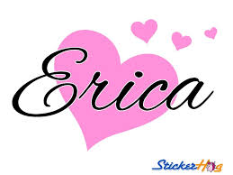 Personalized Hearts Name Monogram Girls Bedroom Vinyl Baby Name Wall Decal