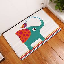 Cartoon Kids Room Carpet Printed Elephant Dachshund Bath Doormat Kawaii Childrens Rug Replace Carpet Kashan Rugs From Sunrise5795 6 82 Dhgate Com