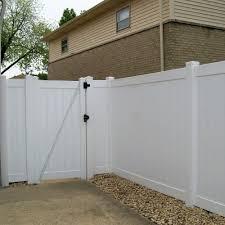 Weatherables Pembroke 3 5 Ft W X 6 Ft H White Vinyl Privacy Fence Gate Kit Swpr T G11 3 6x42 5 The Home Depot In 2020 Vinyl Privacy Fence Vinyl Gates Fence Gate