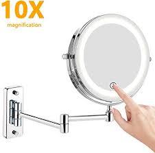 feelglad wall mounted makeup mirror