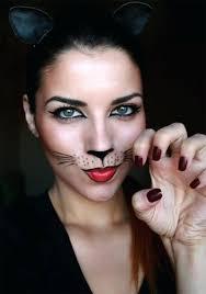 black cat makeup for