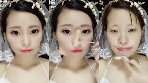 these las transform with makeup