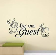 Shop Beauty And The Beast Wall Decal At Buyitmarketplace Com