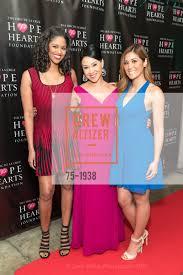 Roqui Theus with Veronica De La Cruz and Maria Medina
