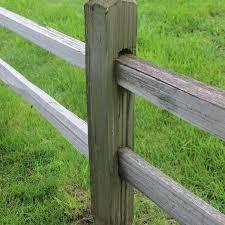 2 Hole Cedar Split Rail Homestead Timbers