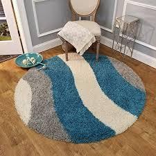 com round rug 5 ft wave